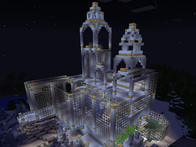 Minecraft Ice Palace